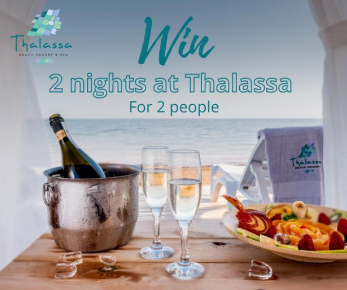 thalassa free 2 night stay