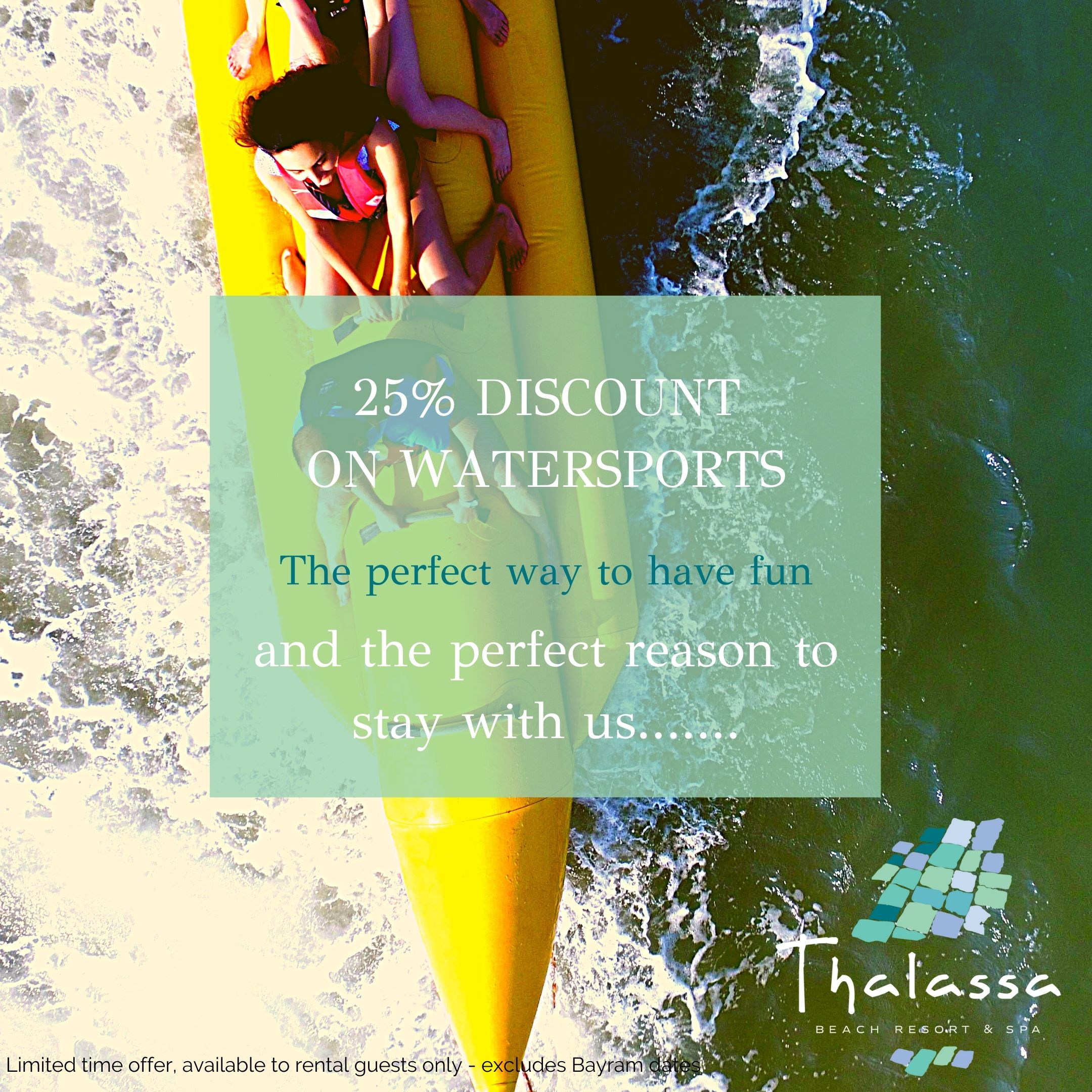 thalassa watersports discount